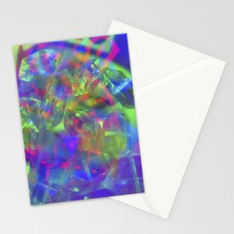 Crystal Face Stationery Cards
