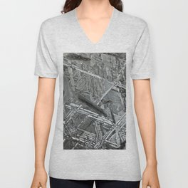 Meteorite structure Unisex V-Neck