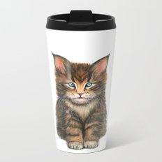 Little Kitten II Metal Travel Mug