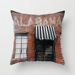 Alabama Architecture XI Throw Pillow