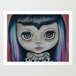 Baby Vamp Art Print