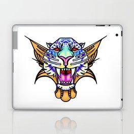Raging But Fair vampire tiger Laptop & iPad Skin