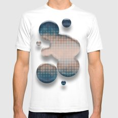 The More You Know... MEDIUM White Mens Fitted Tee