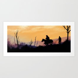 Old West Art Print
