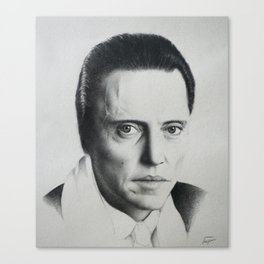 Christopher Walken Canvas Print