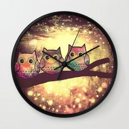 owl-1 Wall Clock