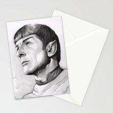 Star Trek Spock Portrait Stationery Cards