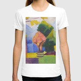 "August Macke ""Garten am Thuner See (Garden on Lake Thun)"" (II) T-shirt"