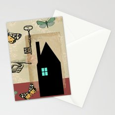 The House With The Turquoise Light On No.2 Stationery Cards