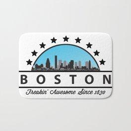 Boston Freaking Awesome Since 1630 Bath Mat