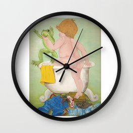 Grandmother Mary's Painting Wall Clock