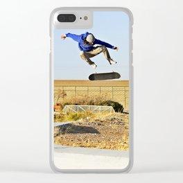 Kickflip Clear iPhone Case