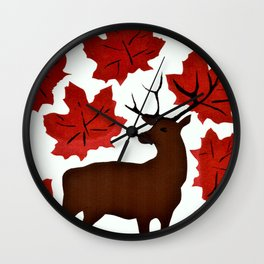 Connections in Nature Wall Clock