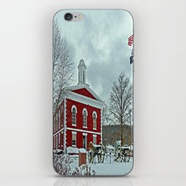 Iron County Courthouse iPhone Skin