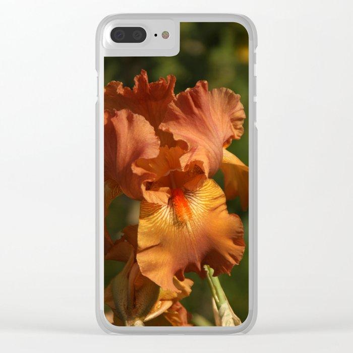 Iris - Golden Clear iPhone Case