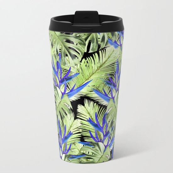 Tropical plant 2 Metal Travel Mug