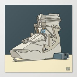 sneaker vehicle Canvas Print