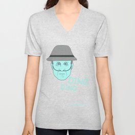 Breaking Bad - Faces - Hector Salamanca Unisex V-Neck
