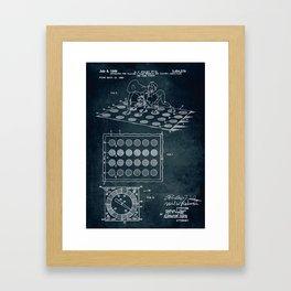 1966 - Twister game Framed Art Print
