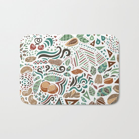 Nuts And Nature Bath Mat
