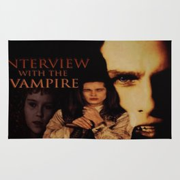 Vampires Interview Rug