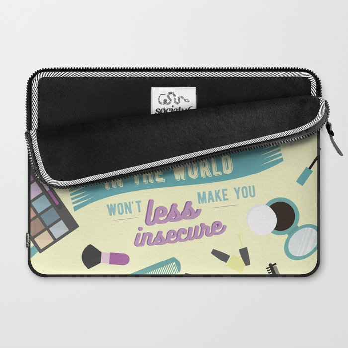 sorry not sorry Laptop Sleeve