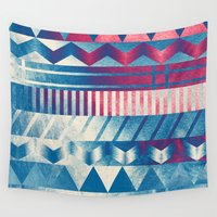 ice cream Wall Tapestries featuring Ice Cream by acefecoo
