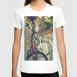 The street is quiet T-shirt