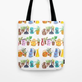 Green Little Fingers Tote Bag