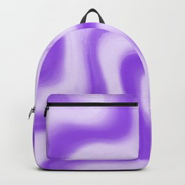 Crimped Violet Backpack