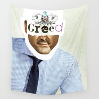 motivation Wall Tapestries featuring Mankind Motivation 2 by Marko Köppe