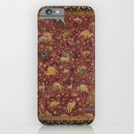 Late 16th Century Silk Iranian Textile iPhone Case