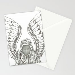 #zero07   Winged by Lawrence Mott Stationery Cards