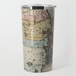Vintage Map of Rhode Island (1823) Travel Mug