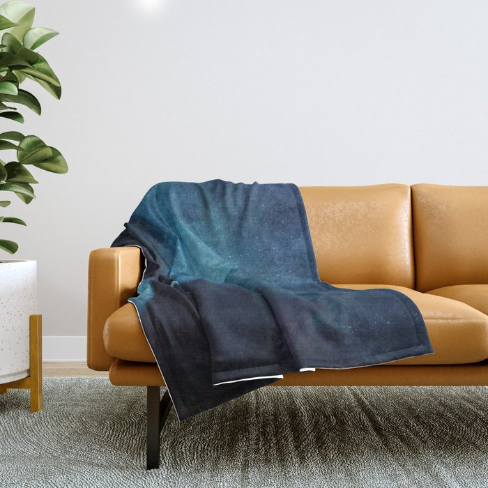 Ghost Town Throw Blanket