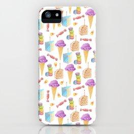 Birthday Girl Pattern iPhone Case