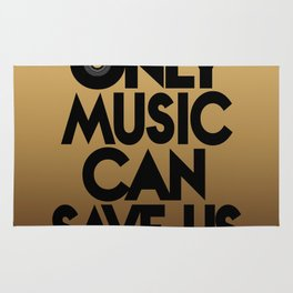 Only Music Can Save Us - Golden Rug