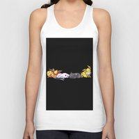 giants Tank Tops featuring Sleeping Giants by Tdrisk46
