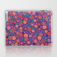 Lady Bug Flowers Laptop & iPad Skin