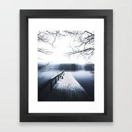 dawn to dusk Framed Art Print