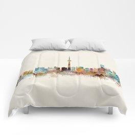 Toronto Ontario skyline Comforters
