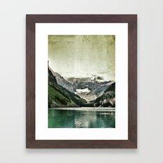Lake Louise, Banff Framed Art Print