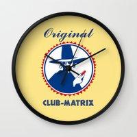 matrix Wall Clocks featuring Club Matrix by dP ARТ