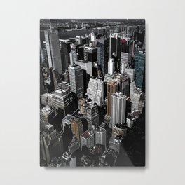 Boxes of Manhattan Metal Print