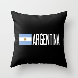 Argentina: Argentinian Flag & Argentina Throw Pillow