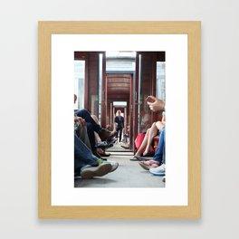 Train in Da Lat Framed Art Print