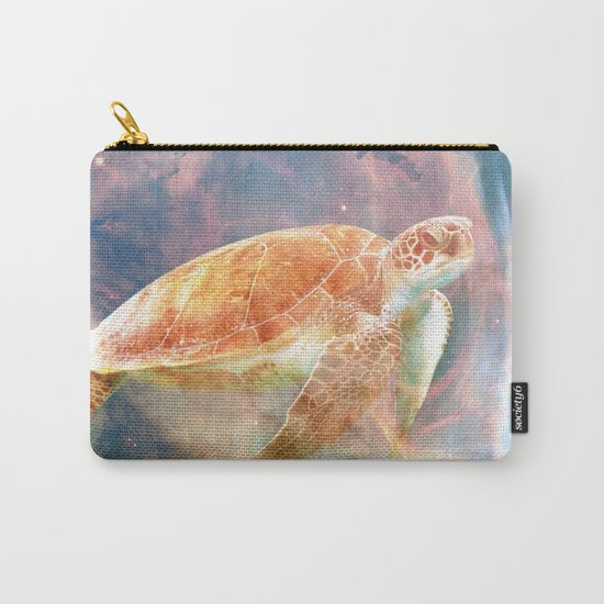 Nebula Turtle Carry-All Pouch