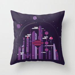World of Tomorrow Throw Pillow