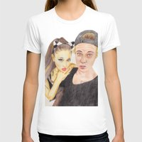 ariana grande T-shirts featuring Ariana and Justin by Share_Shop
