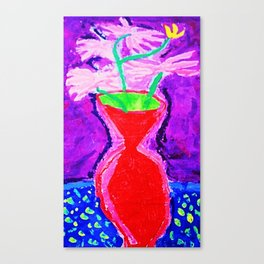 Elementary Vases Canvas Print